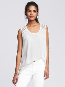 Banana Republic White Outfit