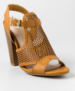 Francesca's Block Heel
